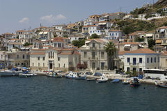 Island of Poros Stock Images