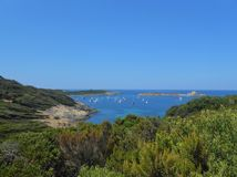 Porquerolles island, Hyeres, France. royalty free stock photos