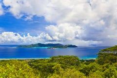 Island Praslin at Seychelles Royalty Free Stock Photography