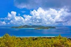 Island Praslin at Seychelles Stock Photography