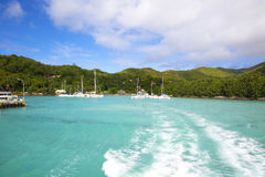 Island Praslin Royalty Free Stock Photography
