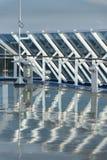 Freshly washed deck on Island Princess royalty free stock photo