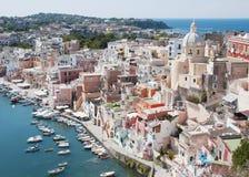 Island of Procida, Italy royalty free stock photos