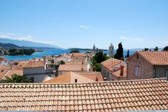 Island Rab, Croatia Royalty Free Stock Image