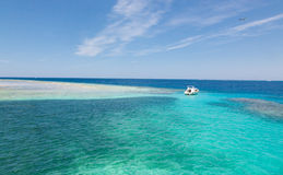 The island in the Red Sea Stock Photography