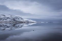 Island-Reflexionen stockbilder