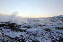 Island-Reise Stockfoto