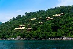 Island resort Stock Image