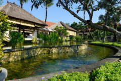 Island resort in Bali Stock Image
