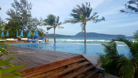 Island resort. Resort on koh rong sanloem island Royalty Free Stock Photos