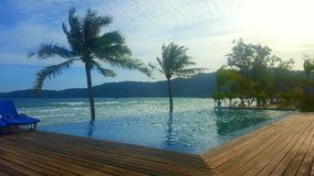 Island resort. Resort on koh rong sanloem island Stock Photography