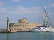 Island of Rhodes. Symbols of Rhodes island Royalty Free Stock Photography