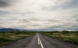 Island-Ringstraße lizenzfreies stockbild