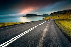 Island roard lizenzfreies stockfoto