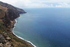 island rock coast and ocean Stock Photos
