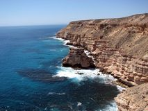 Island Rock and Gorges, Western Australia Stock Image