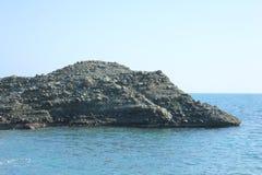 Island of rocks in the sea Stock Photo