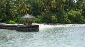 Island. Romantic on the ocean Stock Photos