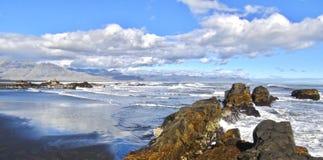 Island, Südküste in Island stockfoto