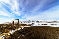 Island-` s Landschaft Stockfoto