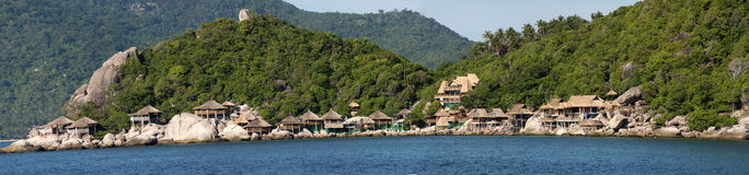 Island's resort of Kho tao Stock Images