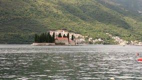 Island of Saint George in Kotor bay