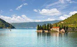 Island of Saint George, Montenegro Stock Image