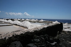 Island saline Stock Photo