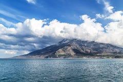 Island Samothraki in Greece Royalty Free Stock Photos