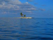 Island at San Blas, Panama Stock Image