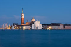 Island of San Giorgio Stock Images