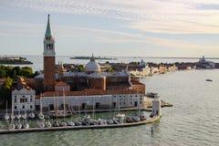 Island of San Giorgio Maggiore Royalty Free Stock Photos