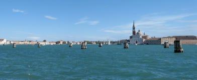 Island of San Giorgio Maggiore in Venice, Italy Stock Photos