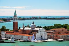 Island of San Giorgio Maggiore in Venice Stock Photo