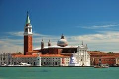 Island of San Giorgio Maggiore in Venice Stock Images