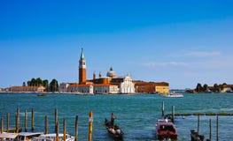 Island of San Giorgio Maggiore Royalty Free Stock Images