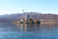 Island Of San Giulio Stock Photo