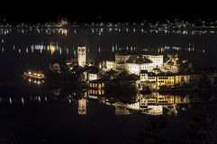 Island of San Giulio, Lake Orta Stock Photos