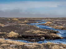 Island sandstorm Arkivbilder