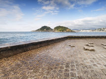 Island of Santa Clara (San Sebastian) Stock Photo