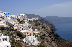 Island Santorin Stock Photography