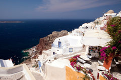 Island Santorini 1 Stock Photography