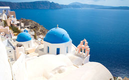 Island of Santorini Stock Photos