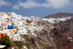 Island Santorini 3 Royalty Free Stock Images