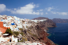 Island Santorini 4 Stock Photography