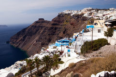 Island Santorini 6 Royalty Free Stock Photos