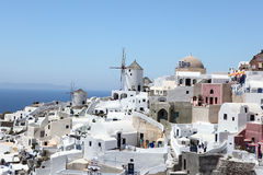 Island Santorini, Greece Royalty Free Stock Photo