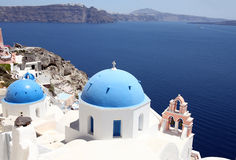 Island Santorini, Greece Royalty Free Stock Image