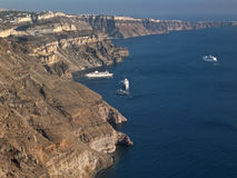 The Island of Santorini - Greece Stock Photography