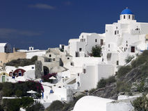 Volcanic Island of Santorini - Greece Royalty Free Stock Photo